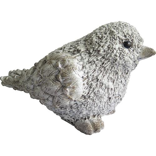 Dekoracia Xecco 17864, Vtáčik, magnesia, 47 cm