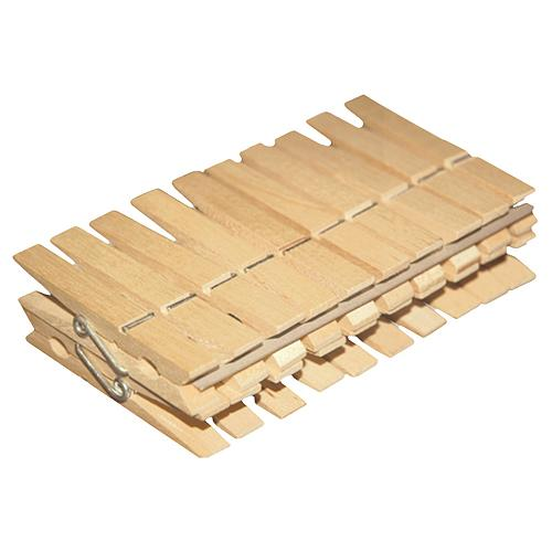 Stipce na pradlo York 096050, 20 ks, drevené