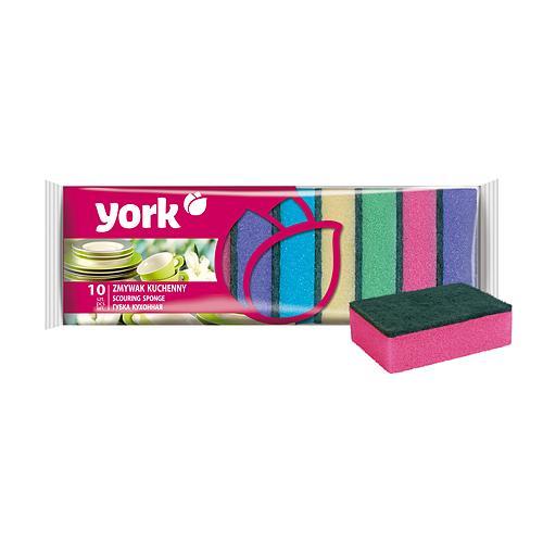 Hubka York 030030, špongia na riad, 9x6x2.9 cm, bal. 10 ks