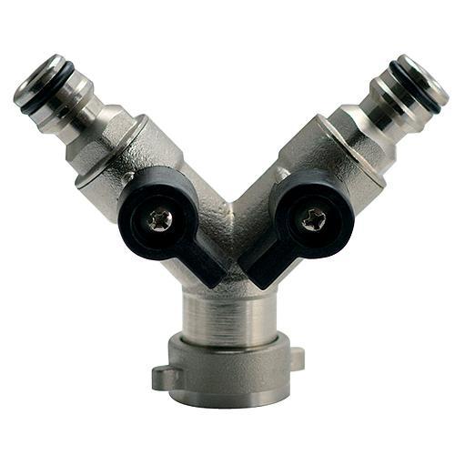"""Spojka GF123, 3/4"""", typ Y, s ventilom, kovová"""