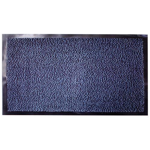 Rohozka MagicHome CPM 305, 40x60 cm, čierna/modrá