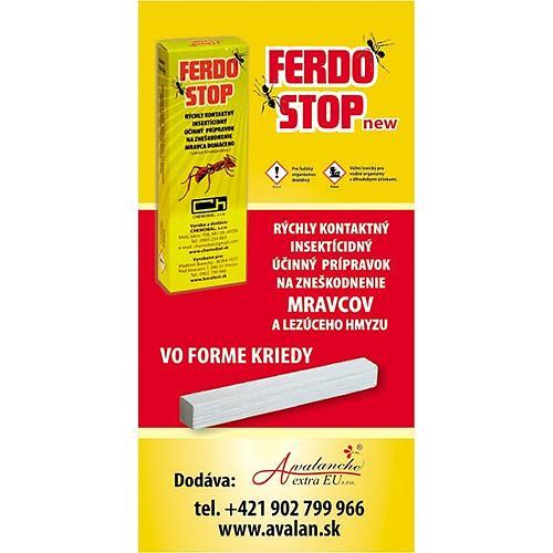 FedroStop, krieda proti mravcom a plošticiam