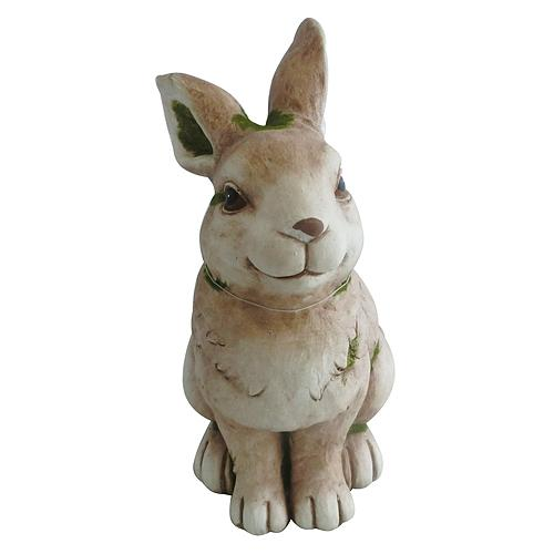 Dekoracia Gecco 8054, Zajac, magnesia, 38 cm
