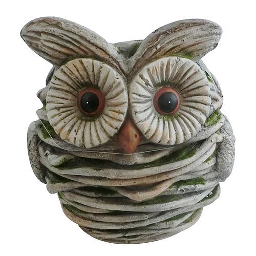 Dekoracia Gecco 8118, Sova, magnesia, 30 cm