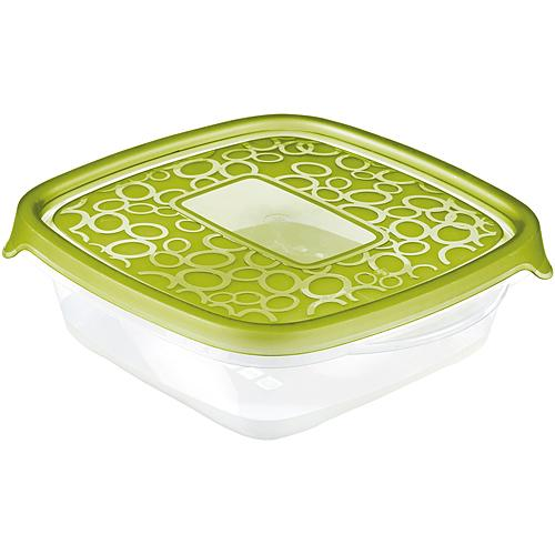 Dozy Curver® TAKE AWAY 2 3x0.6L, zelená, 17x8x16 cm