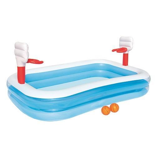 Bazénik Bestway® 54122, Basketball, detský, 251x168x102 cm, nafukovací