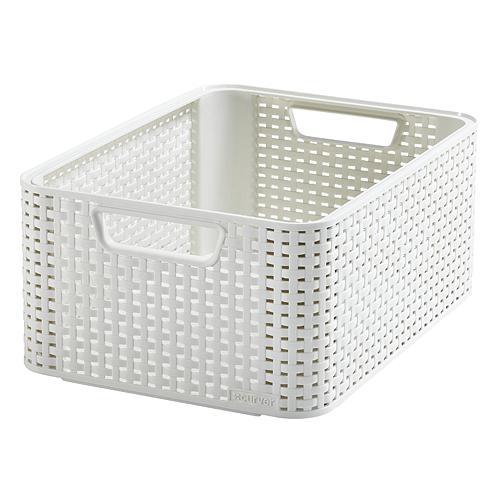 Košík Curver® STYLE M, Off white, 38x29x17 cm