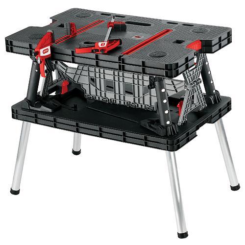 Stôl Keter® 17182239, 85x55x75.5 cm, pracovný, skladací, max. 453 kg