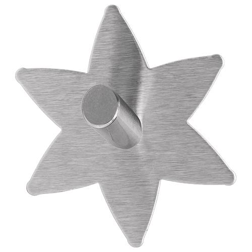 Hacik tesa® Permanent, hviezda, do kúpelne, kov