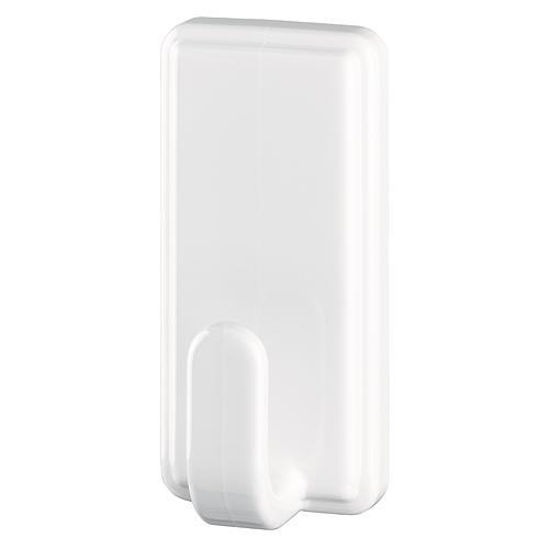Hacik tesa® Powerstrips®, biely, hranatý, max. 2 kg
