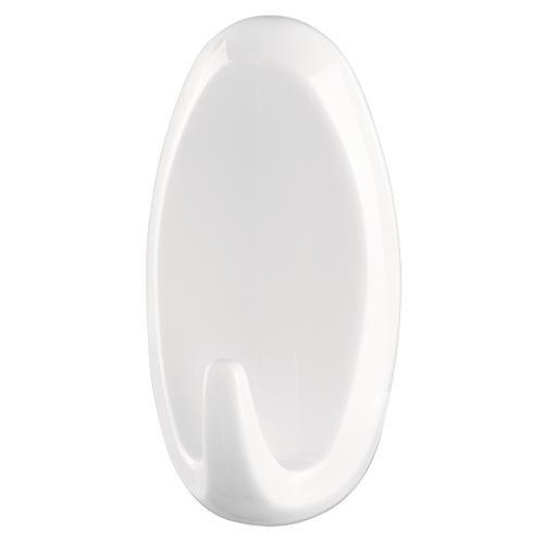 Hacik tesa® Powerstrips®, biely, oválny, max. 2 kg