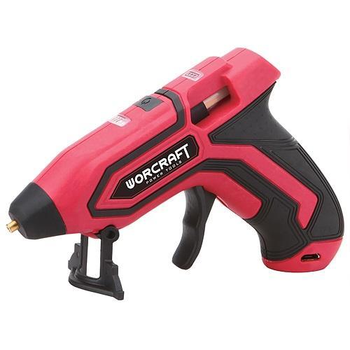 Pištoľ Worcraft CGG-3,6Li, AKU 5 V, Li-Ion, 7 mm, USB kábel, na tavné tyčinky