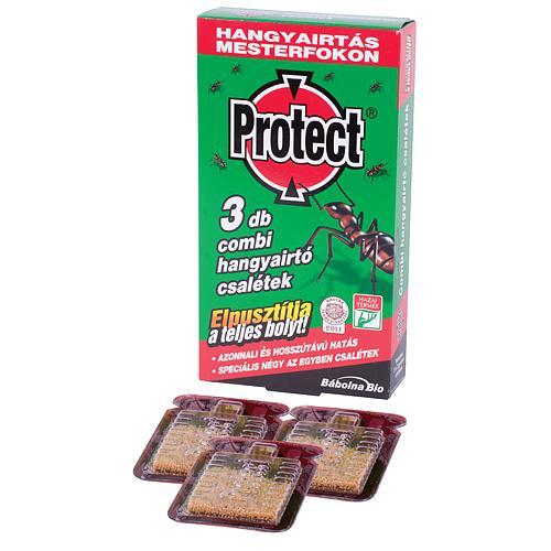 PROTECT® Combi, nástraha na ničenie čiernych mravcov, 3 ks