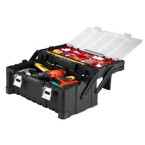 Box Keter® Cantilever Tool Box 22, 56x31x24 cm, na náradie