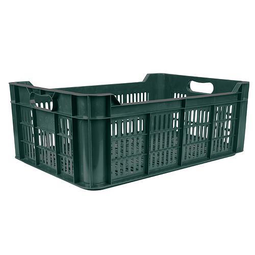 Prepravka na ovocie a zeleninu M20, 48 lit., max. 20 kg, 600x400x215 mm, perforovaná, PE