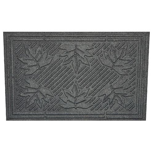 Rohozka MagicHome CBM 031, Leaf, 60x40 cm, Gray, economy