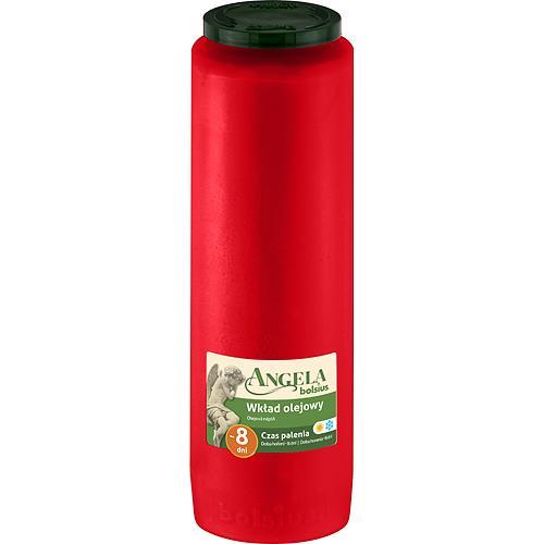 Napln bolsius Angela NR08 červená, 185 h, 550 g, olej