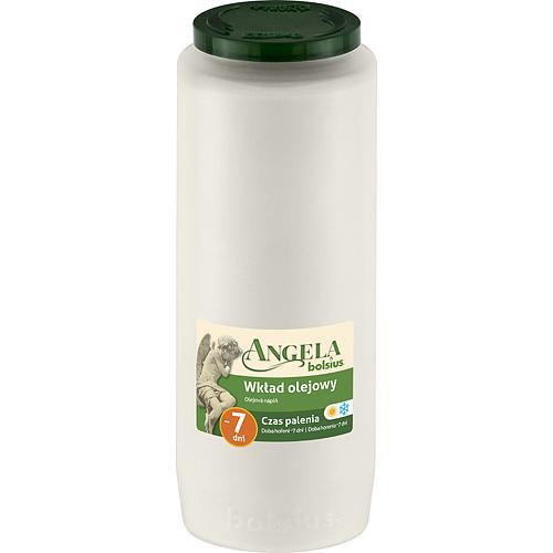 Napln bolsius Angela NR12 biela, 155 h, 471 g, olej