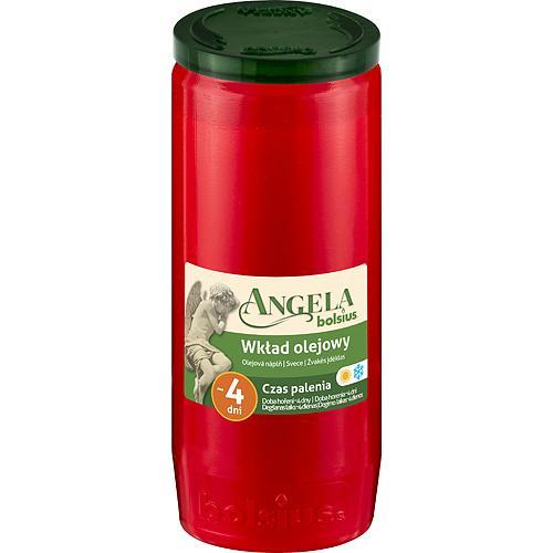 Napln bolsius Angela NR05 červená, 82 h, 243 g, olej