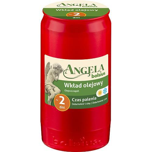 Napln bolsius Angela NR02 červená, 45 h, 110 g, olej