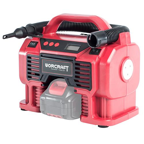 Kompresor Worcraft CAC-S20Li, 20V, Li-Ion, 160 Psi, 11 Bar