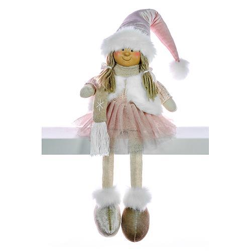 Dekoracia XmMX108, Dievčatko, 33 cm
