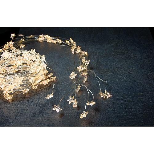 Retaz MagicHome, 230V, exterier, 2 m, 180x micro star LED, teplá biela