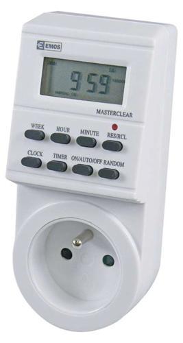 Casovac EMOS TS-EF1, spínacia, časovač, digital