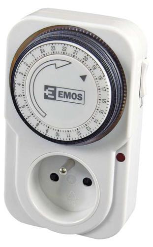 Casovac EMOS TS-MD3, IP20, spínacia, časovač