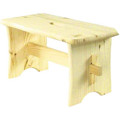Stolicka drevená, 39x20x20 cm