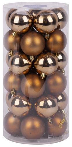 Gule MagicHome, 30 ks, 6 cm, medené, na vianočný stromček