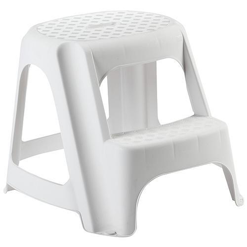 Stupadlo plastove, 2 stupne, 40 cm, biele, nos. 150 kg