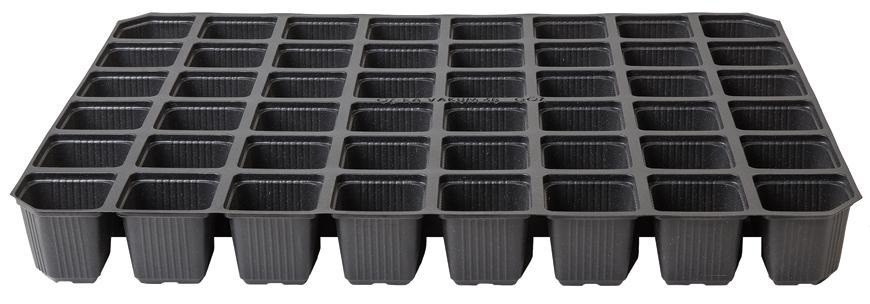 Sadbovač Strend Pro, na priesady, 27x52x4,6 cm, 128 priesad, stvorec