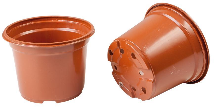 Kvetináč Strend Pro, na priesady, okrúhly 12x12x9,5 cm,