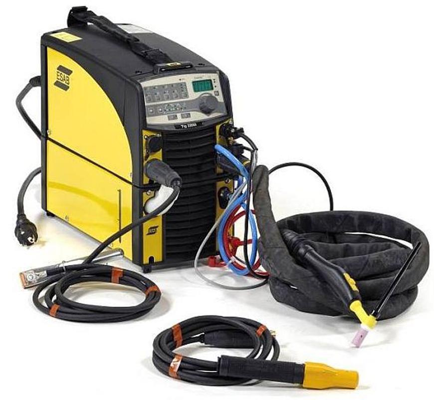 Zvaracka ESAB Caddy™ TIG 2200iw TA34, DC, TIG/MMA + kable, vod. chladenie