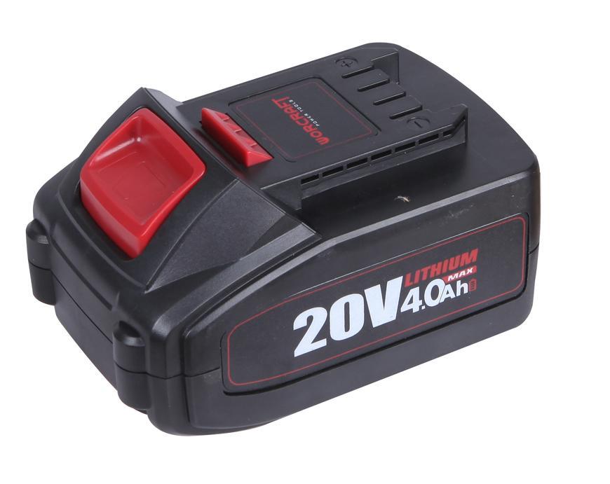 Akumulator Worcraft CLB-20V-4.0, 4000 mAh, seria S20Li