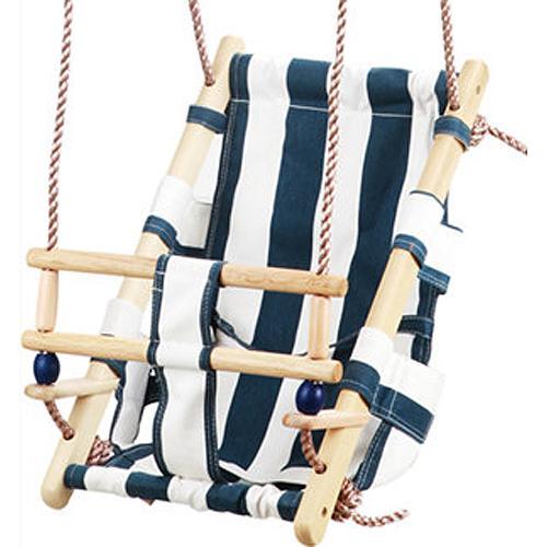 Hojdacka LEQ FUMIKO, 36x24x45 cm, detská, tkanina/drevo