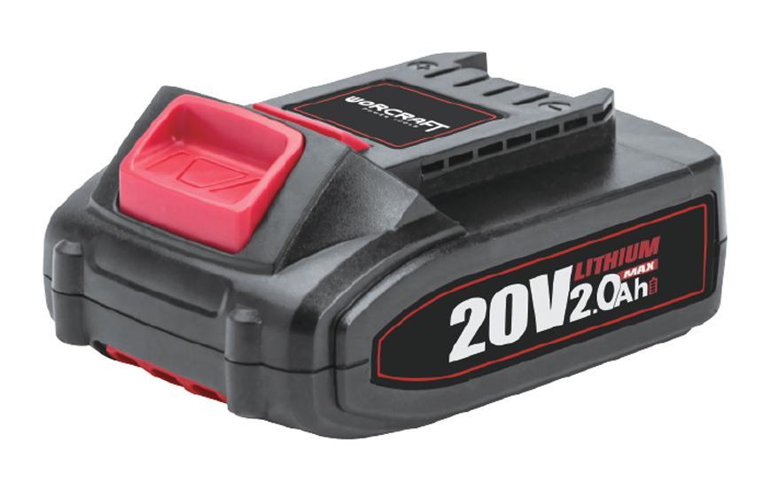 Akumulator Worcraft CLB-20V-2.0 2000 mAh, seria S20Li